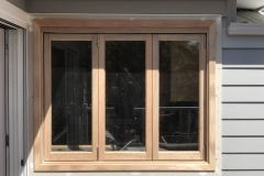 timber bifold window