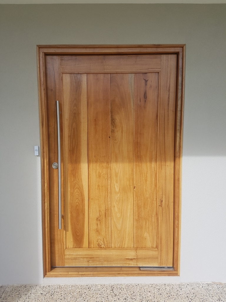 Custom Pivot Doors