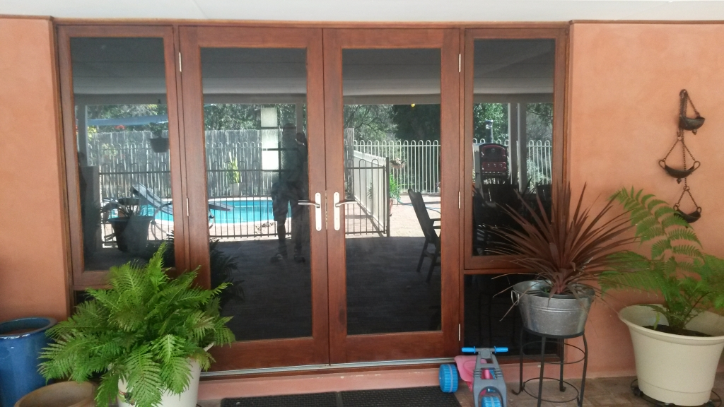 Timber doors and frame