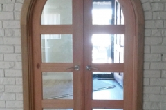 Arched Timber Doors