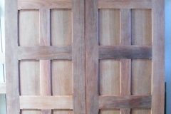 Solid Timber Door Pair