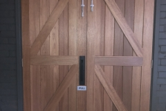 barn door pair